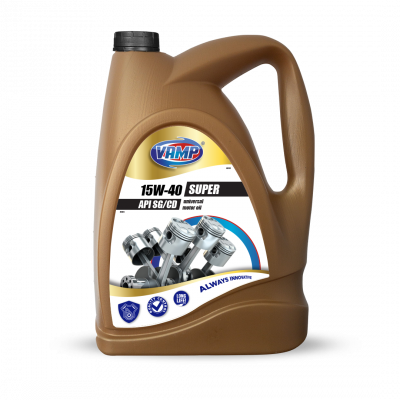 Motor oil SUPER 15W-40 VAMP